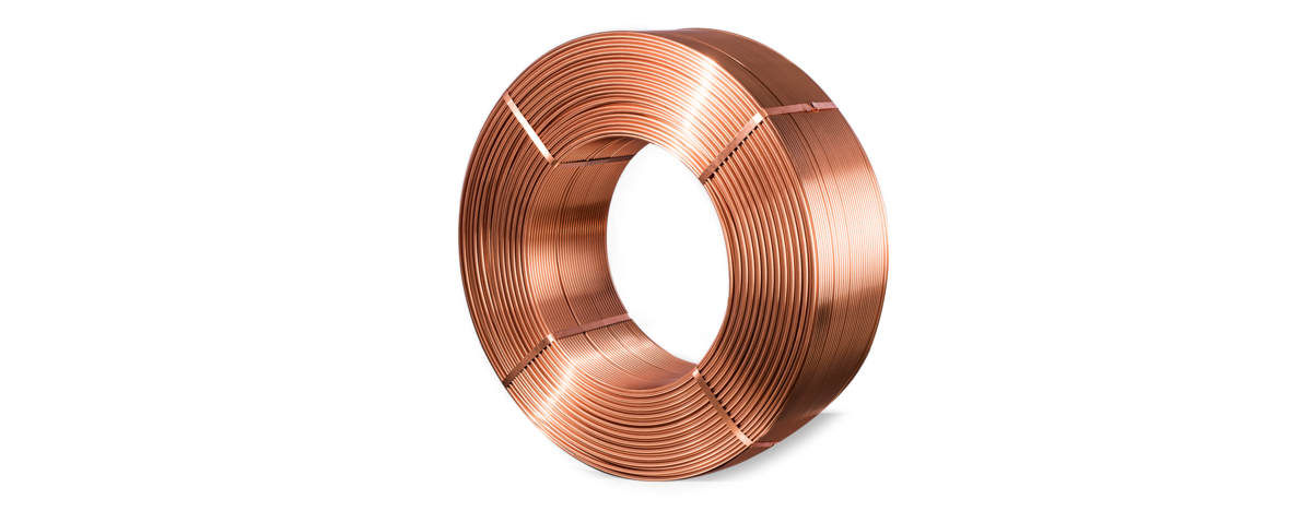 Vector pipes copper pipe. Tubes and finned wieland