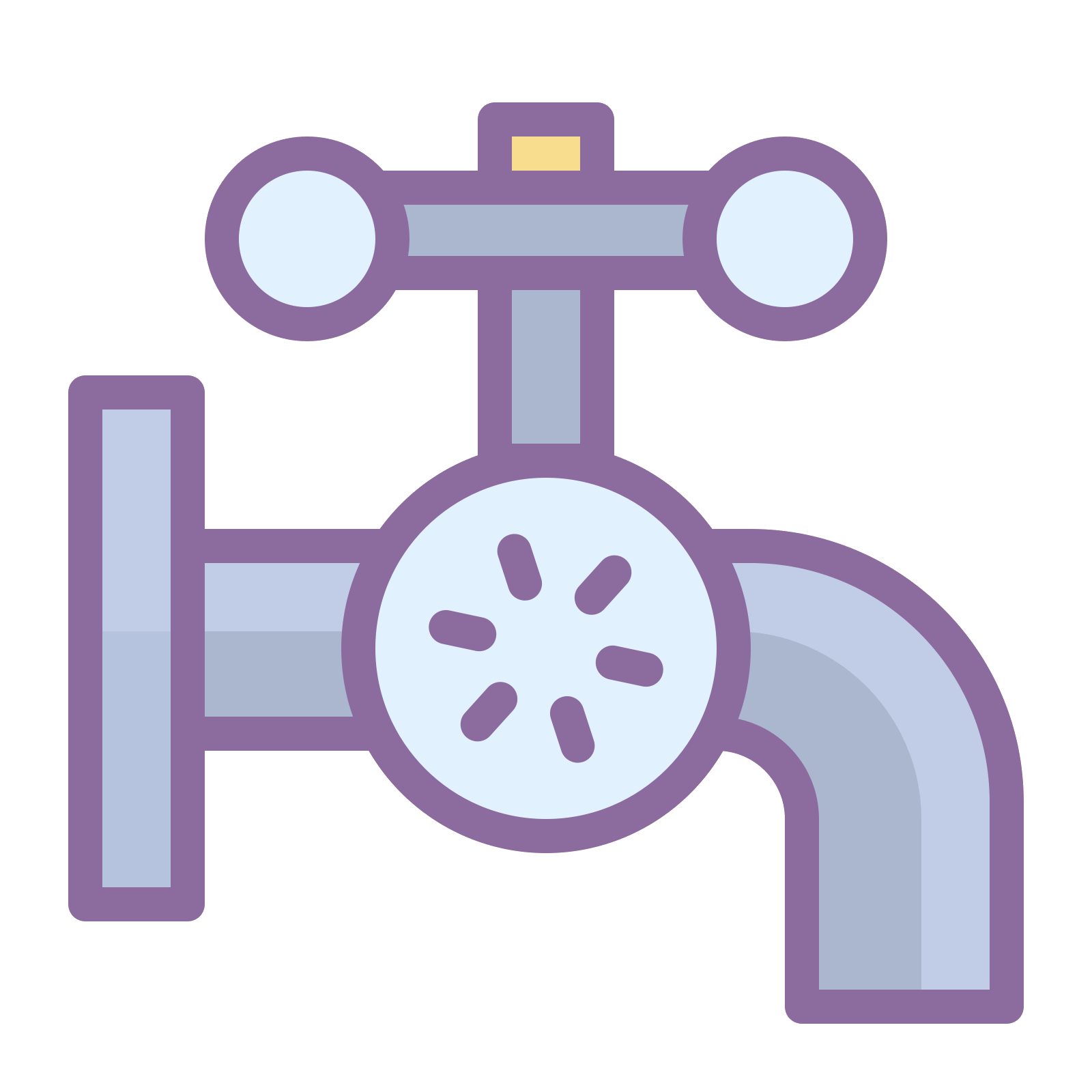 Plumbing icon kostenloser download. Vector pipes steam pipe png free