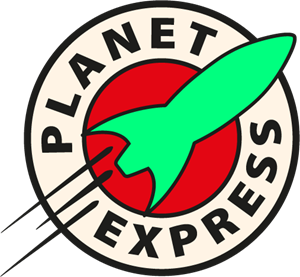 Express logo eps free. Vector planet black and white