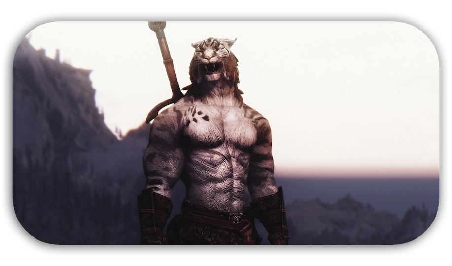 Vector plexus skyrim. Muscular khajiit textures and