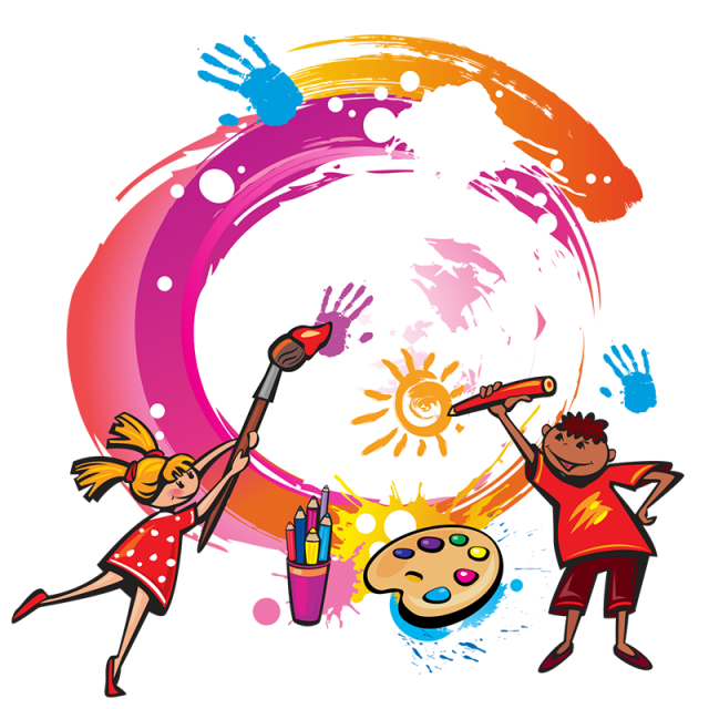 Vector png free download. Paint kids painting copyright