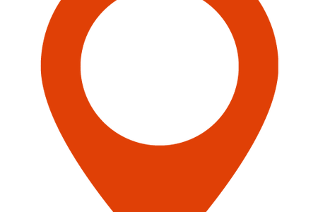 Vector pointers red. Google map pointer icon