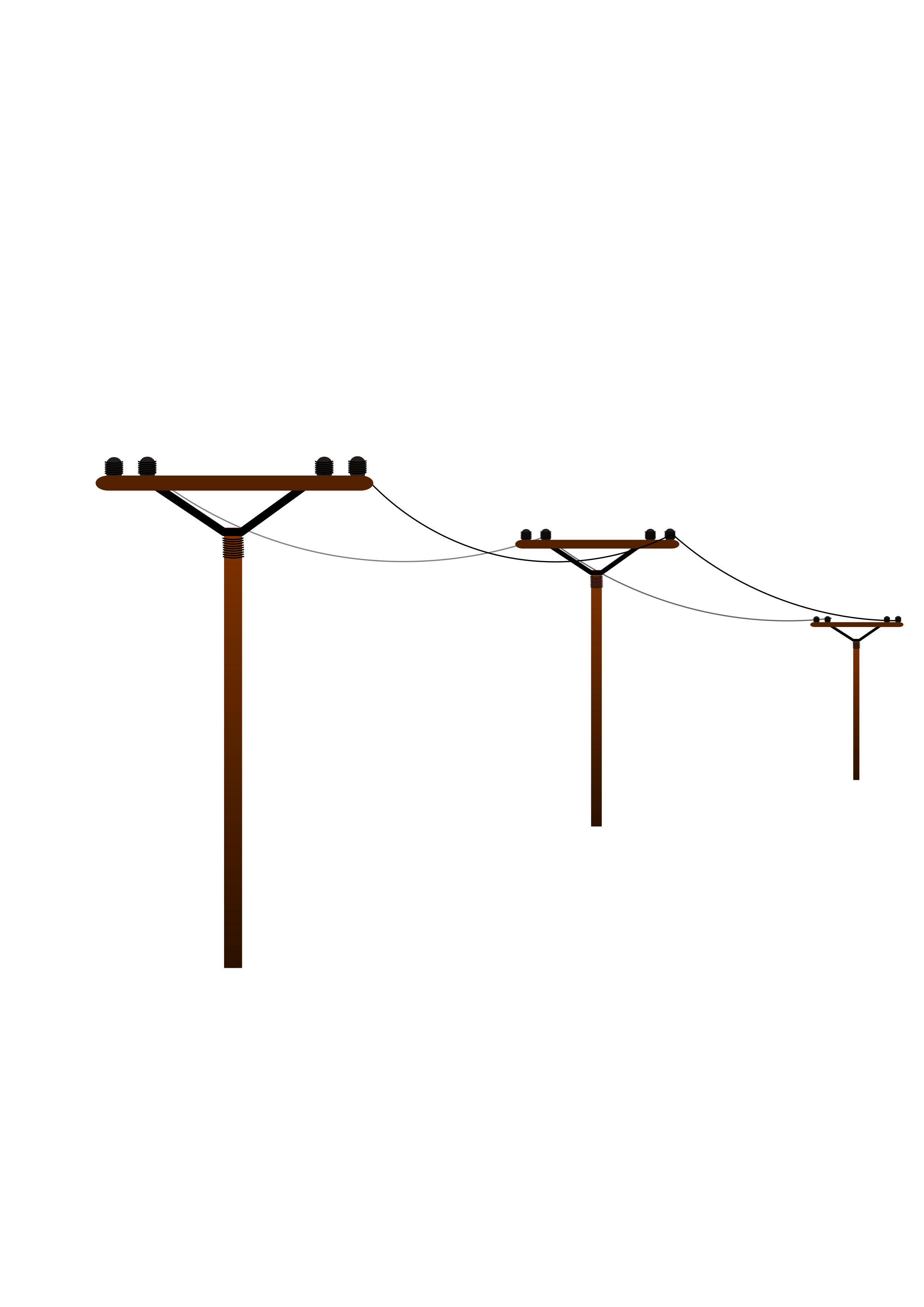 Vector power electricity background. Collection of free electricities