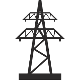 Electricity clipart electric tower. Icon myiconfinder