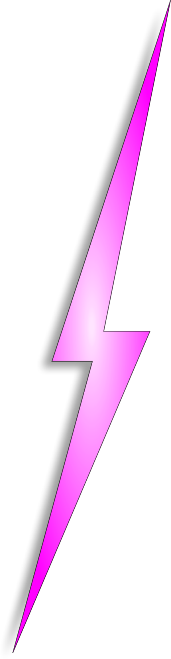 lightning bolt png pink