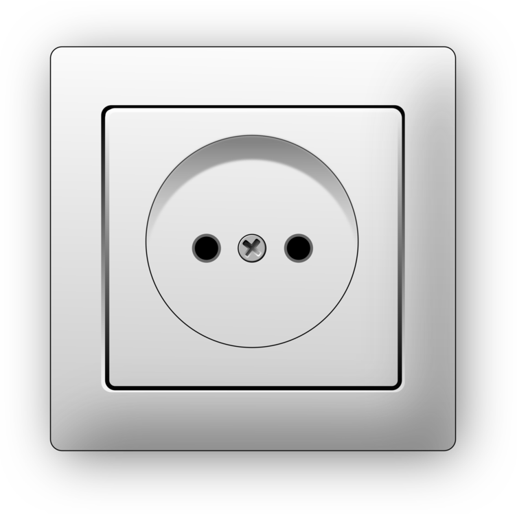 Vector power plug point. Ac plugs and sockets