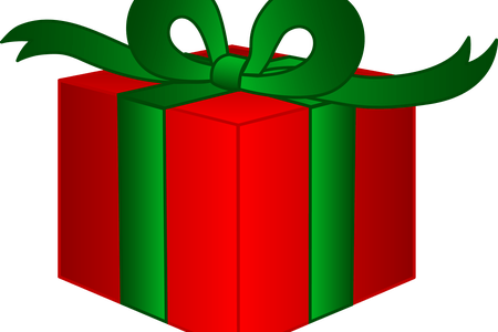 Vector present christmas. Gift images free k
