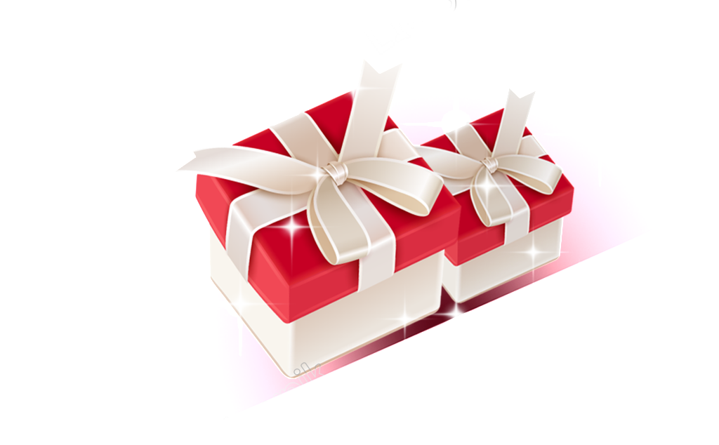 Vector present gift packaging. Free png download