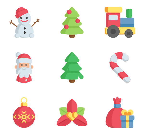Rudolph vector christmas present. Presents icons free