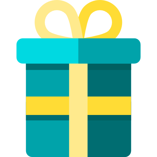 Vector presents flat design. Gift icon page