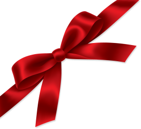 Vector presents present ribbon. Red gift png image