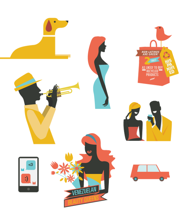 Vector project creative design. Latino influence by dhnn