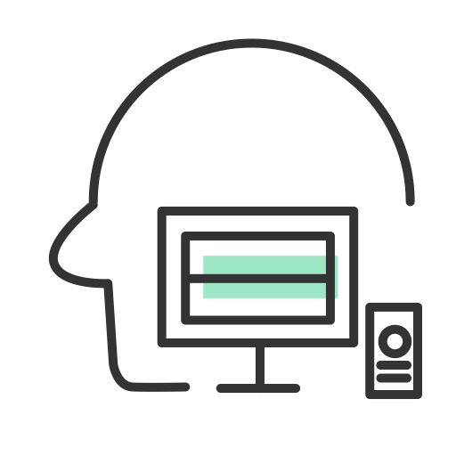 Vector project self management. Control icon png and