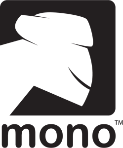 Vector project logo. Mono eps free download