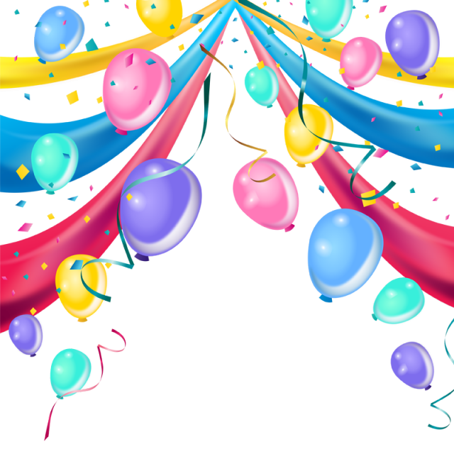 Vector psd background. Decoration balloon free vectorkh