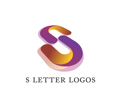 Alphabet s letter logo. Colorful vector psd vector download