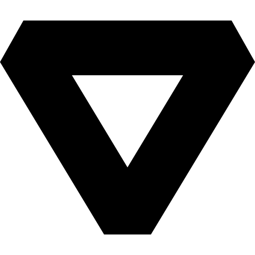 Vector psd triangle. Inverted vectors photos and