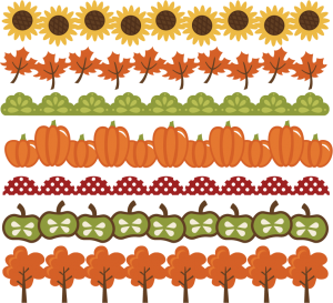 Vector pumpkins frame. Pumpkin border autumn orange