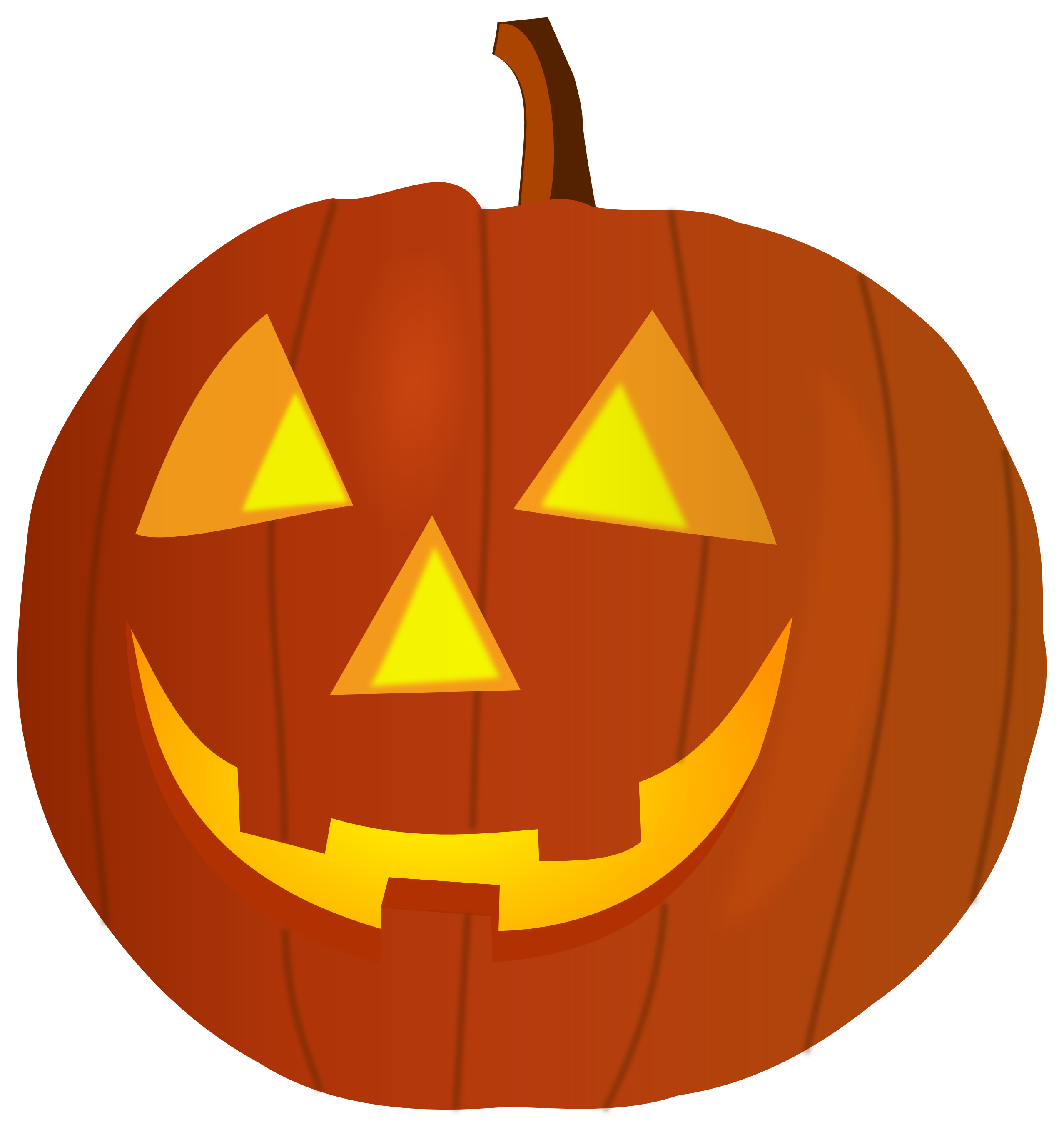Vector pumpkins bunch. Pumpkin outline clipart at