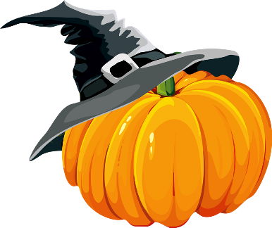 Vector pumpkins frame. Border jpg transparent