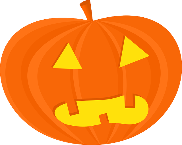 Vector pumpkins free fall. Image on pixabay halloween