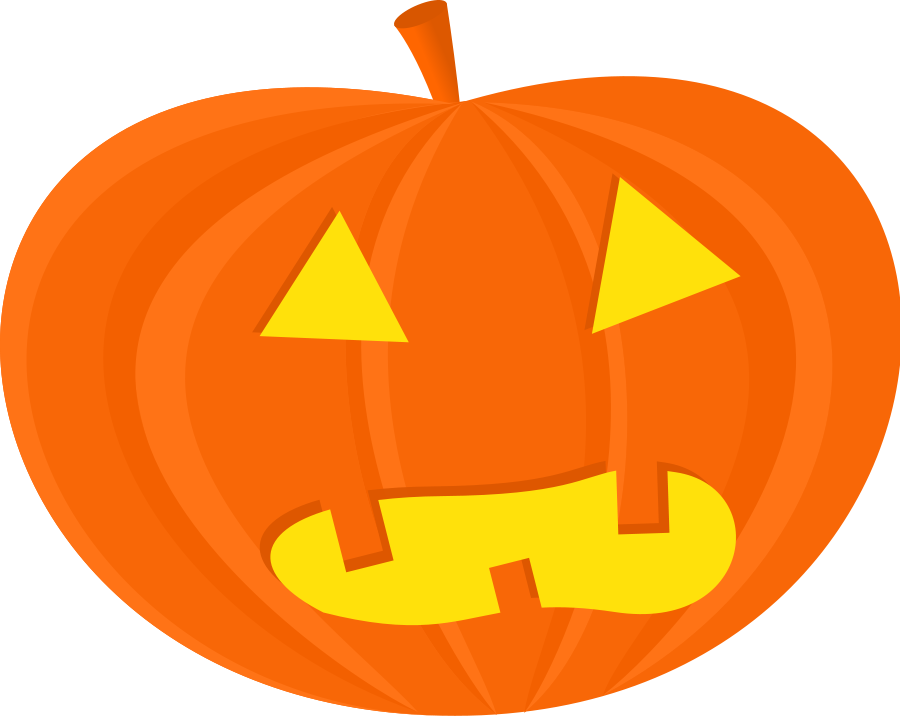 Vector pumpkins pumpkin face. Png transparent stock