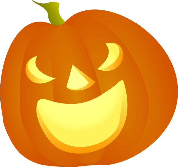 Pumkin vector creepy. Free halloween pumpkin cartoon