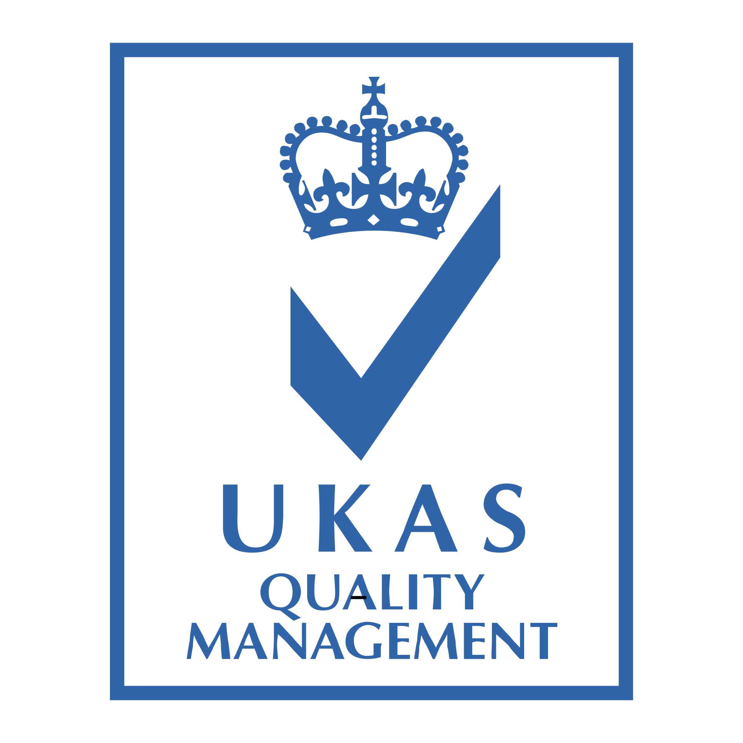 Ukas management logo png. Vector quality picture