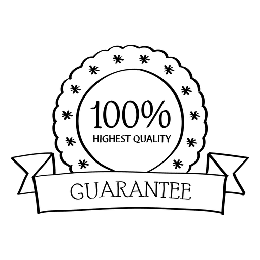 Vector quality guarantee. Highest badge transparent png
