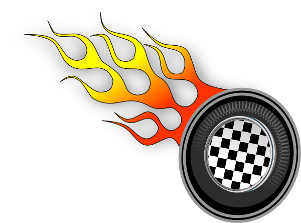 Vector racer racetrack. Race track clip art