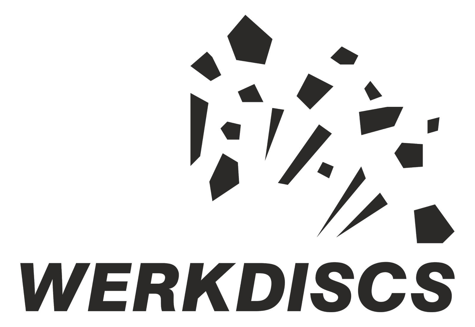 Vector record label. Logos of electronic music