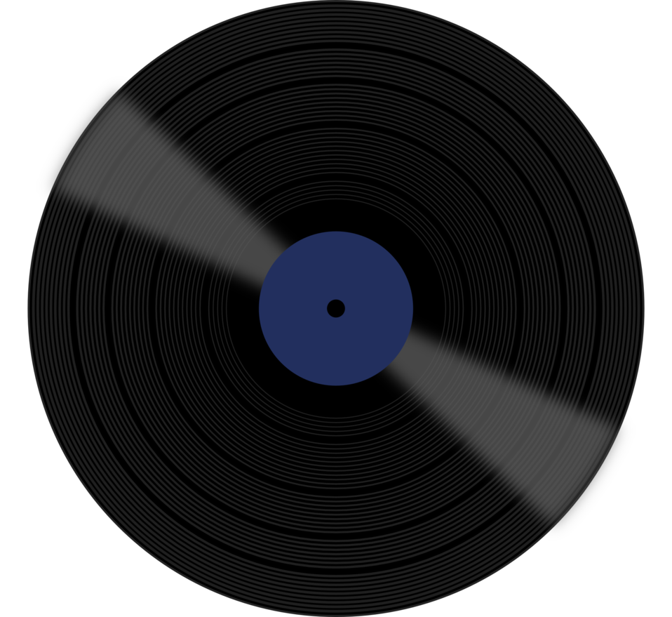Vector records colorful. Record http www publicdomainfiles