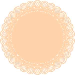 Vector rectangle doily. Collection of free lace