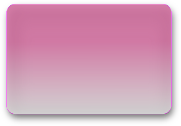 Vector rectangle glossy. Pink button clip art