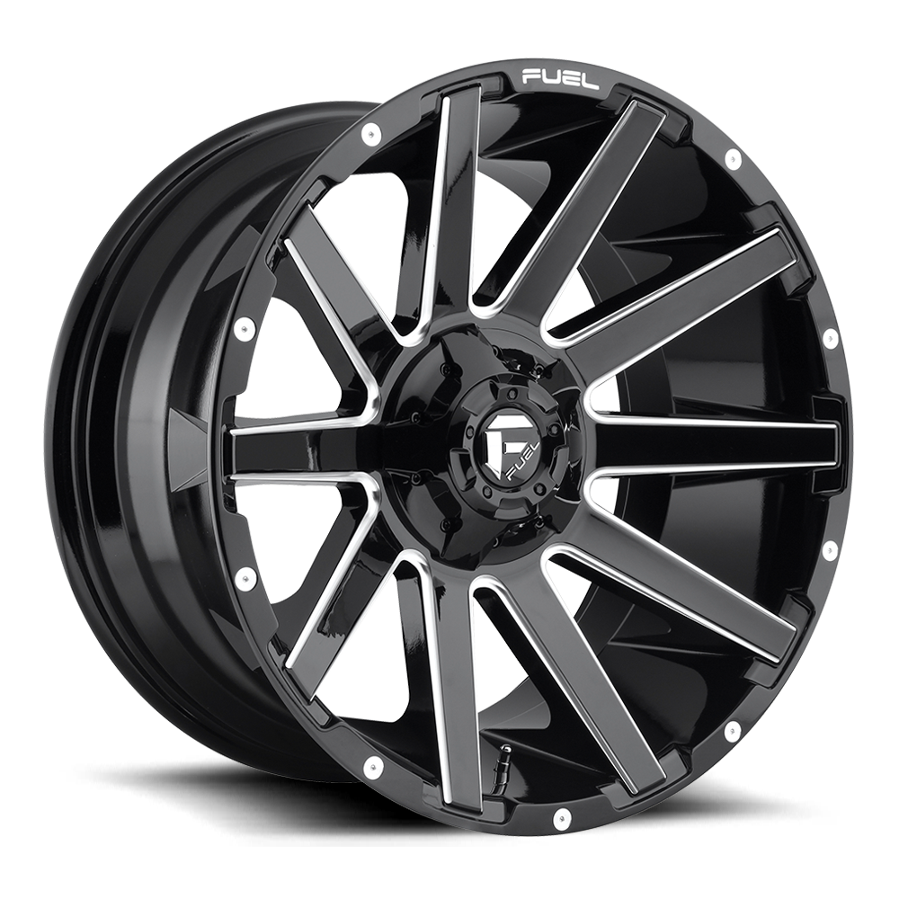 Vector rims spoked wheel. Collection fuel off road