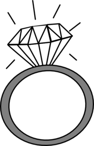 Wedding ring clip art. Rings clipart picture free