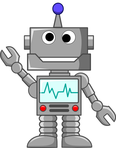 Collection of free robot. Vector robotics art png royalty free download