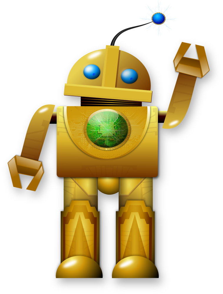 Vector robots friendly. Collection of free robot