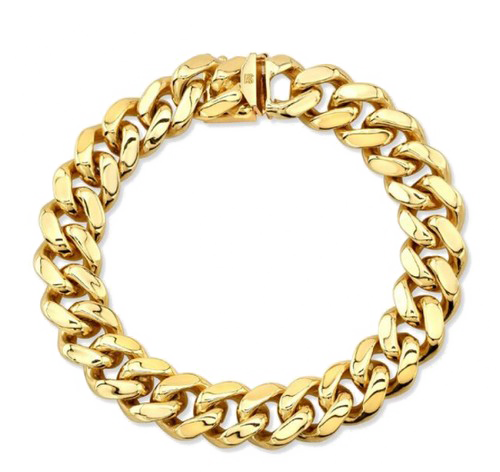 Vector s chain. Gold png image with