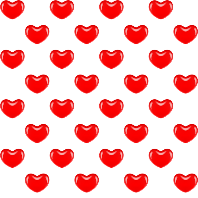 Vector s heart pattern. Free image on pixabay