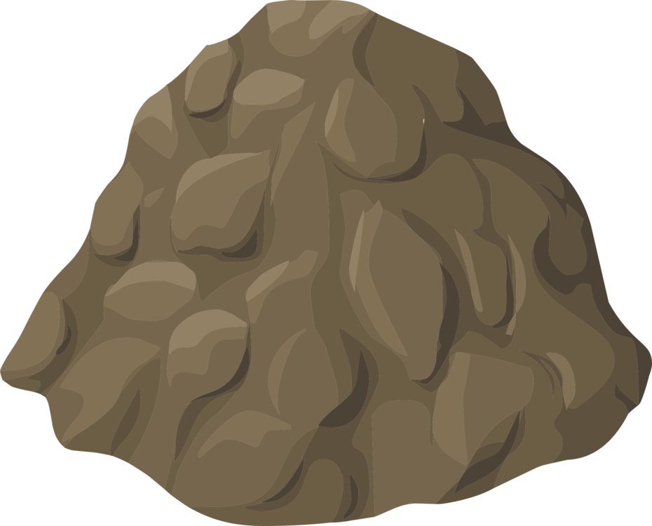 Vector sand stylized. Rock computer icons encapsulated