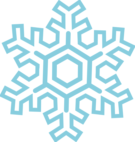 Vector sand stylized. Snowflake clip art at