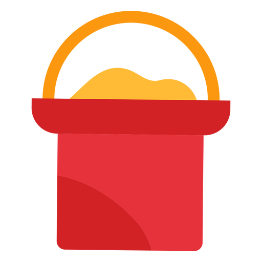 Vector sand svg. Bucket icon transparent png