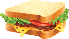 Vector sandwich veg. Tomatoes and sandwiches free