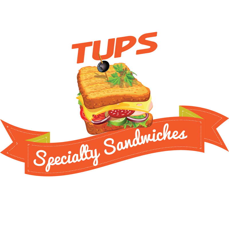 Vector sandwich meal. Turkey and cheese clip