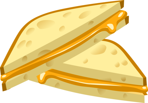 Vector sandwich panini. Cheese chicken free commercial