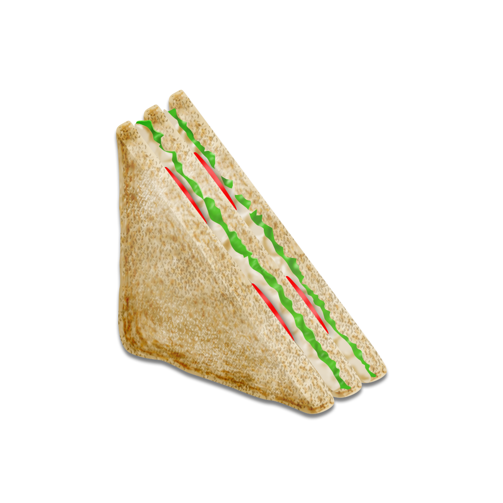 Vector sandwich tuna. Icon by yamshing on