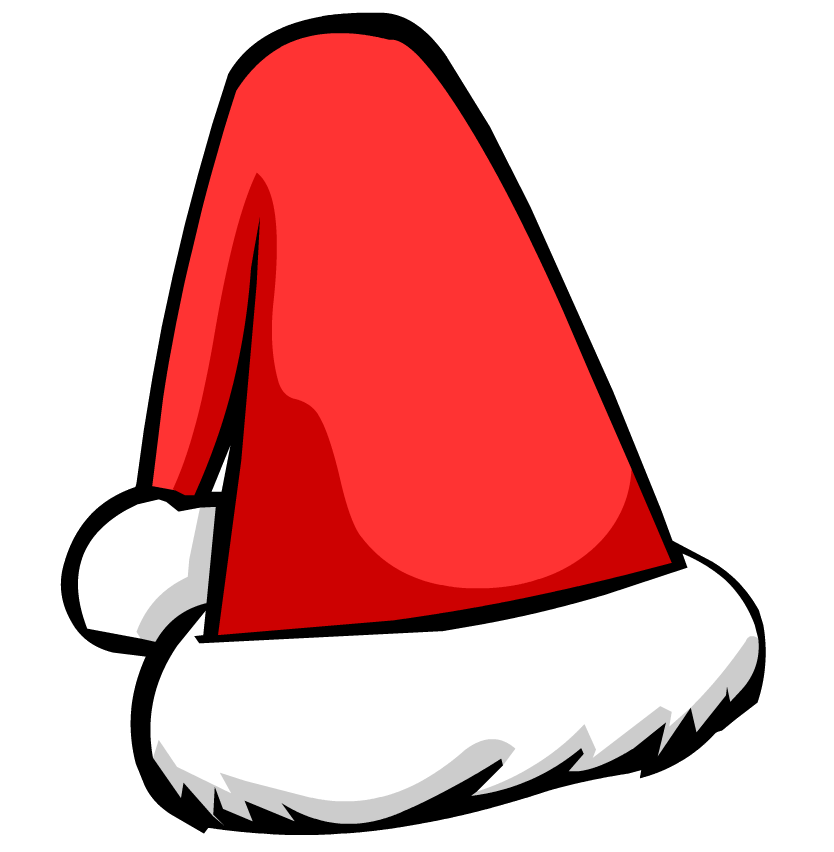 Vector santa. Free picture of a