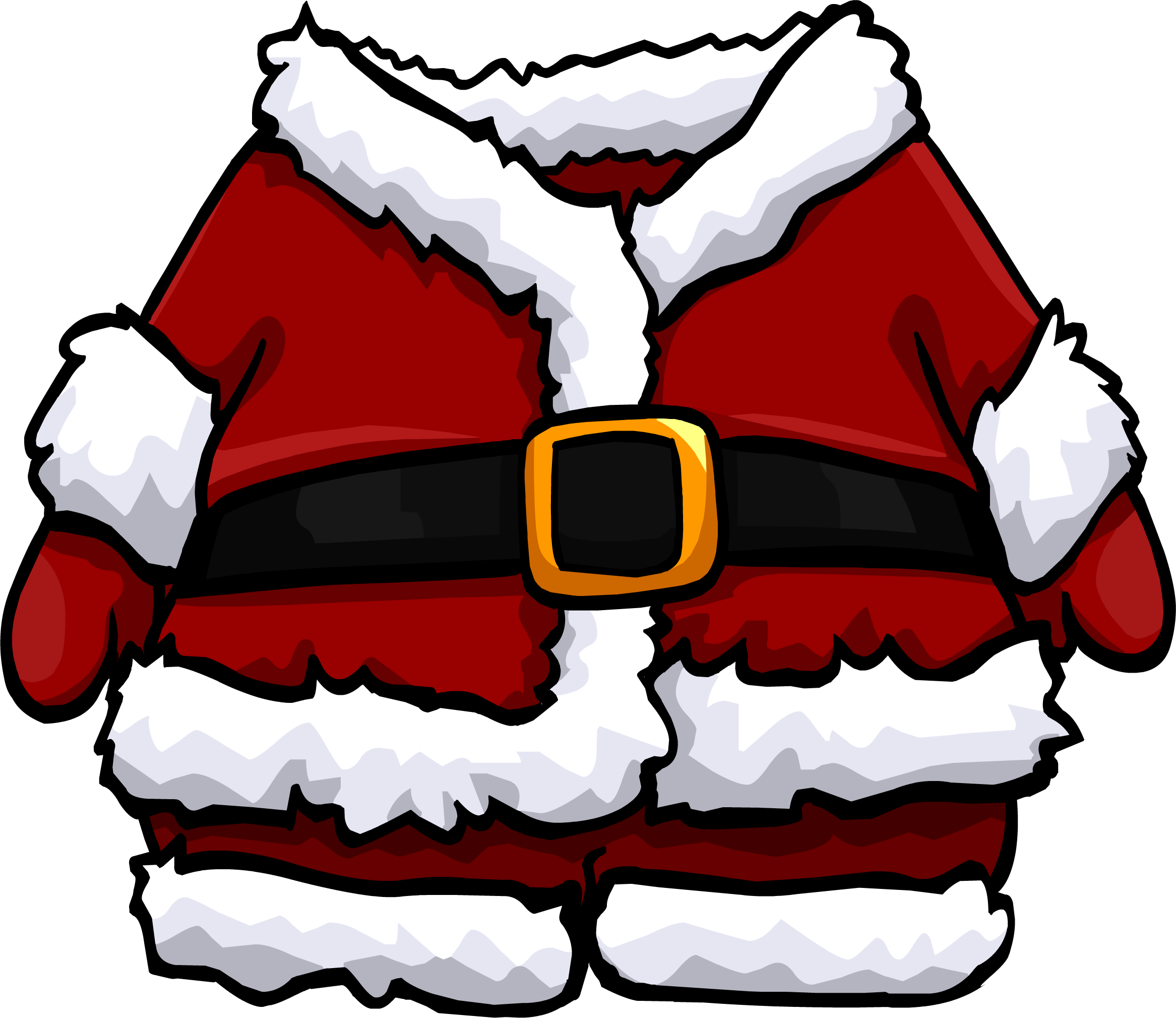 Vector santa coat. Banner freeuse stock
