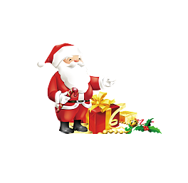 Vector santa hand. Featured claus graphics png